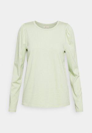 ALICIA PUFF SLEEVE TEE - Topper langermet - sunfaded mint