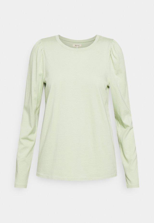 ALICIA PUFF SLEEVE TEE - Top sdlouhým rukávem - sunfaded mint