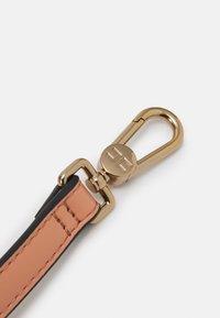 Elisabetta Franchi - BOX BAG - Handbag - rose gold/nero - 3