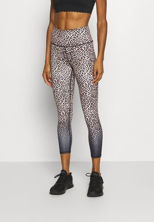 LOVE YOU A LATTE 7/8 - Leggings - multicoloured