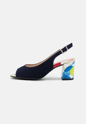 FOLINA - Sandaalit nilkkaremmillä - notte/multicolor