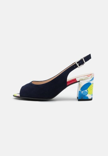 FOLINA - Sandals - notte/multicolor