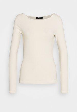 Langarmshirt - beige