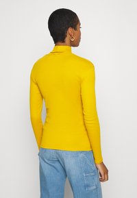 Benetton - TURTLE NECK - Long sleeved top - mustard - 2