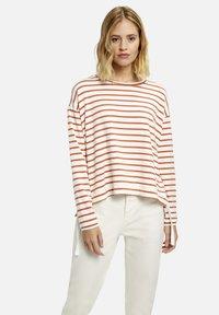 Smith&Soul - GESTREIFT - Sweatshirt - cinnamon - 0
