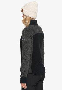 Roxy - MIT REISSVERSCHLUSS  - Fleece jacket - true black - 2