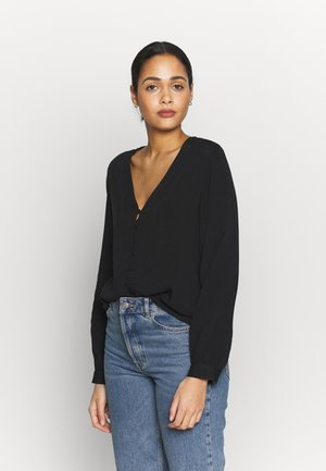 BYGINNY VNECK  - Blouse - black