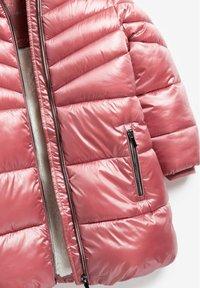 Next - Winter coat - pink - 5