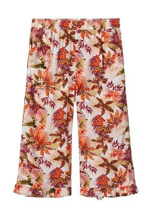 NKFVINAYA CULOTTE - Trousers - silver pink