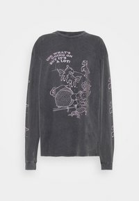 NEW girl ORDER - LITTLE LAMB TEE - T-shirts med print - charcoal - 0