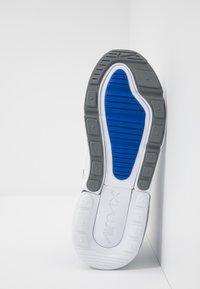 Nike Sportswear - AIR MAX 270 - Sneakers - white/hyper royal/pure platinum - 5