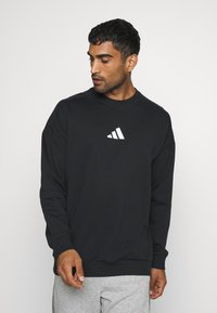 adidas Performance - TIGER CREW - Sweatshirt - black - 2