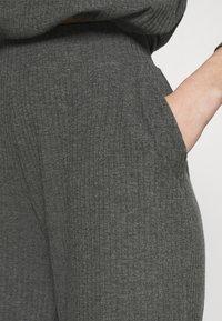 ONLY - ONLNELLA PANTS - Tracksuit bottoms - dark grey melange - 5