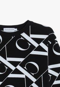 Calvin Klein Jeans - MIRROR MONOGRAM  - Sweatshirt - black - 4