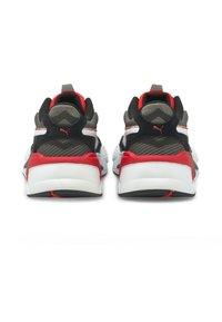 Puma - TWILL AIRMESH - Trainers - castlerock-poppy red - 2