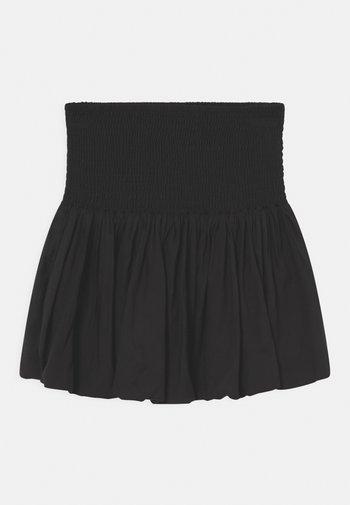 BELLA - Minirok - black