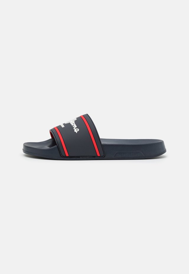 SLIDER BASIC 0.2 - Pantofle - navy