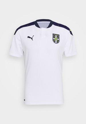 SERBIEN FSS AWAY  - Club wear - white/peacoat
