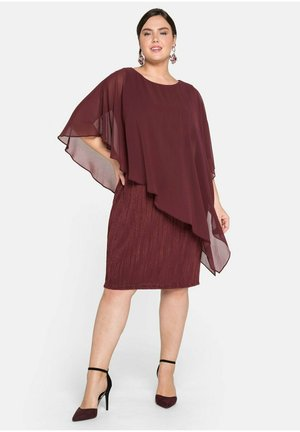 Day dress - dark red