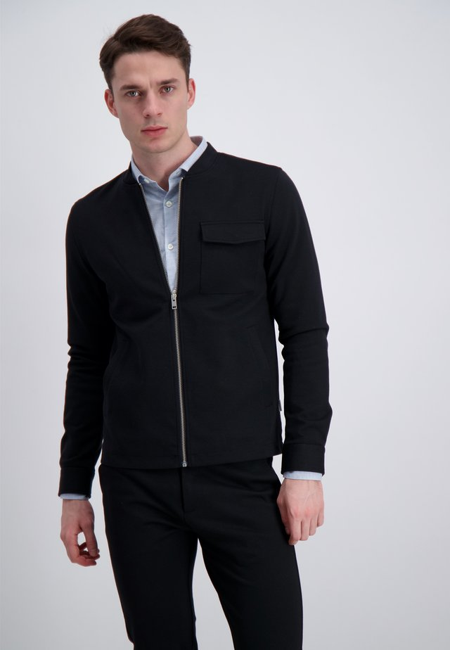 OVERSHIRT - Lehká bunda - black