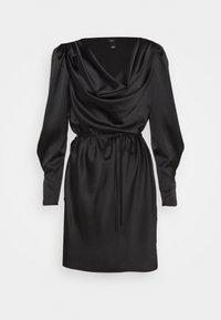 ROXY COWL NECK DRESS - Day dress - black