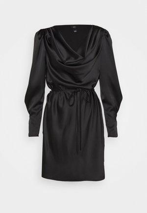 ROXY COWL NECK DRESS - Robe d'été - black