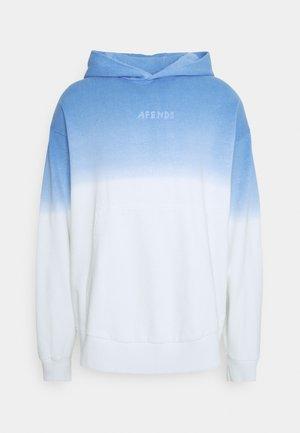 HIGH STATUS PULL ON HOOD UNISEX  - Sweatshirt - blue dip dye
