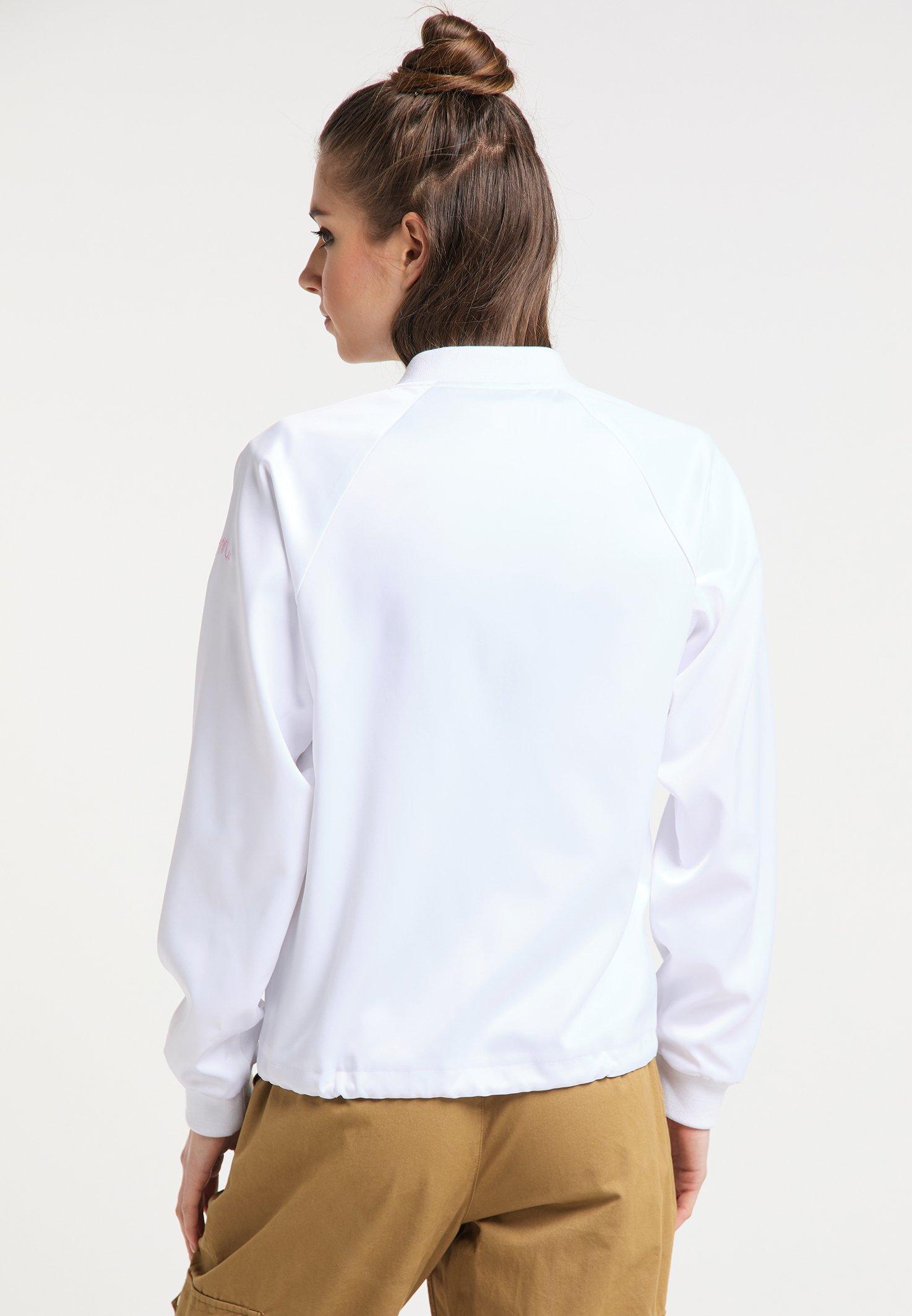 myMo Bomberjacke white/weiß