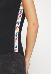 Calvin Klein - BARDOT PRIDE - Print T-shirt - black - 5