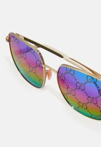 Gucci - Sunglasses - gold-coloured/multicolor - 3