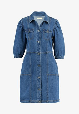SRDEBBIE SHORT DRESS - Sukienka jeansowa - everyday mid blue