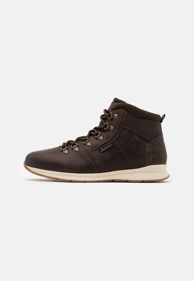 Barbour - MILLS - Lace-up ankle boots - dark brown