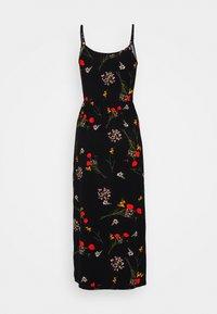 Even&Odd Tall - Jersey dress - black/multi-coloured - 1