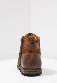 Yellow Cab - INDUSTRIAL - Šněrovací kotníkové boty - tan - 3