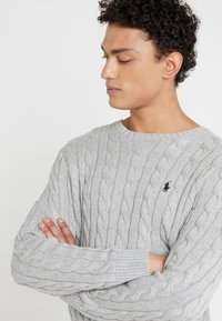 Polo Ralph Lauren - CABLE - Stickad tröja - andover heather - 3