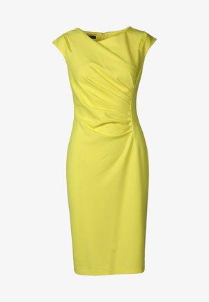 Etui-jurk - gelb