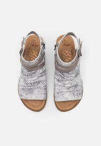 Blowfish Malibu - VEGAN BLUMOON - Ankle cuff sandals - smoke - 5