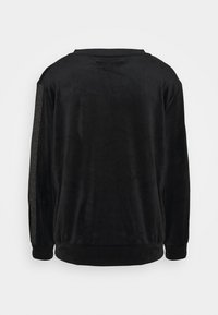 Hunkemöller - TOP SHIMMER TAPE - Noční košile - black - 1