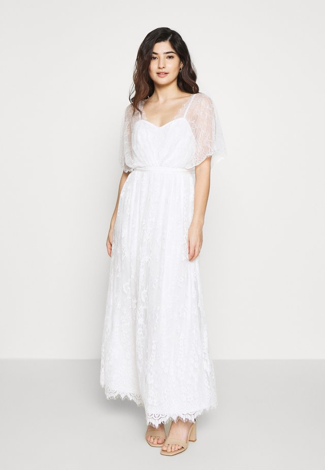 VIKOSMA MAXI DRESS PETITE - Iltapuku - cloud dancer