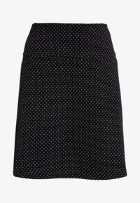 edc by Esprit - FLARED SKIRT - Mini skirt - black