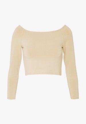 KIRA - T-shirt à manches longues - light beige