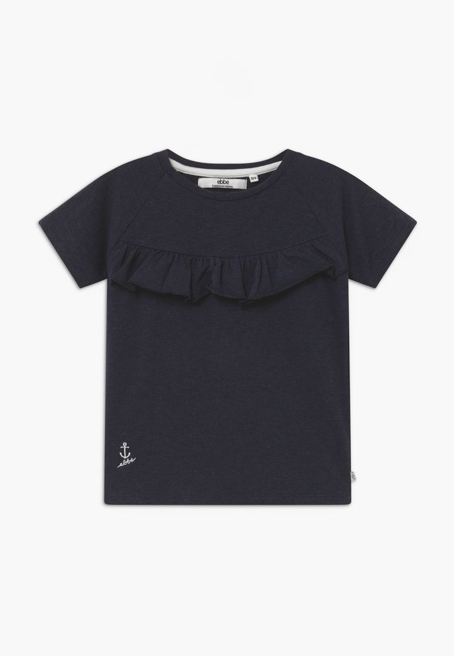 GIA TEE - Basic T-shirt - navy