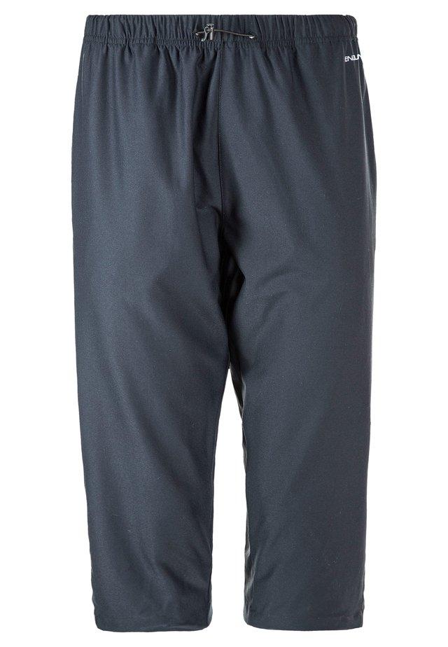 TENGAH - 3/4 sports trousers - 1001 black