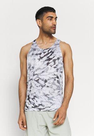 FAST TANK - Camiseta de deporte - grey one/white