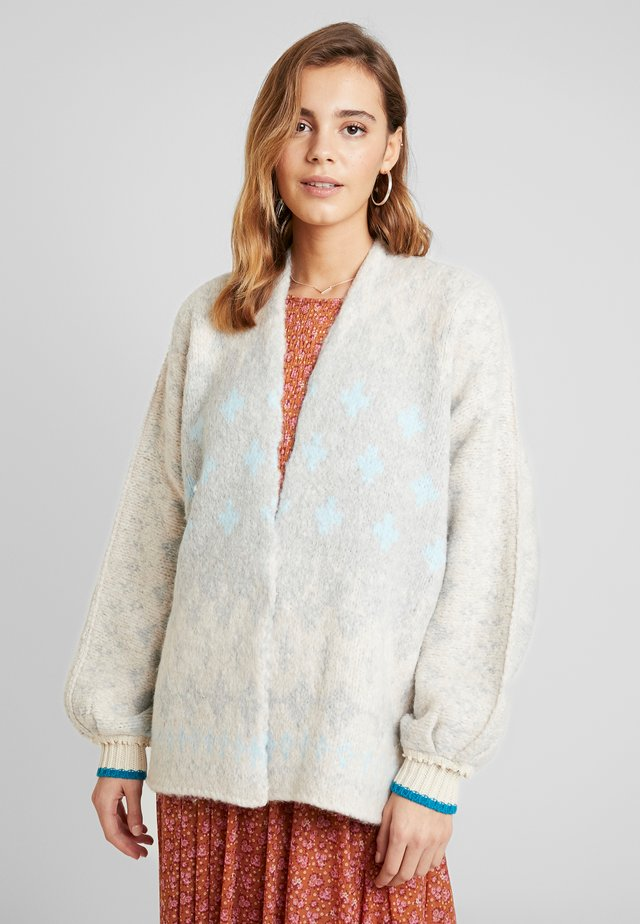 WINTER WONDERLAND CARDI - Cardigan - blue combo