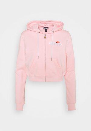 PIOLLI - Zip-up hoodie - light pink