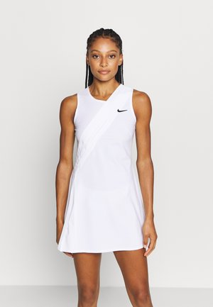 MARIA DRESS - Robe de sport - white/black