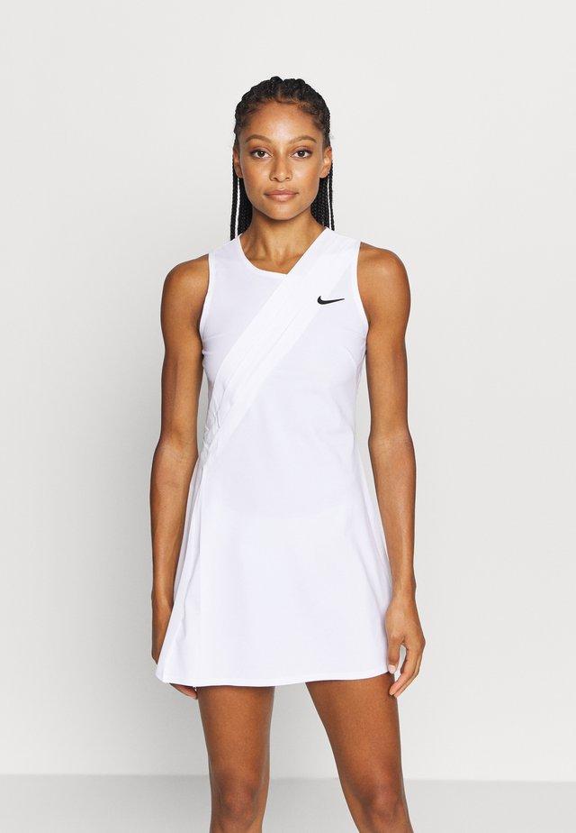 MARIA DRESS - Sukienka sportowa - white/black