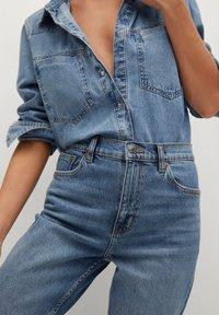 Mango - NEWMOM - Straight leg jeans - bleu moyen - 4