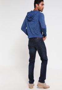 camel active - HOUSTON - Straight leg jeans - dark blue demin - 2
